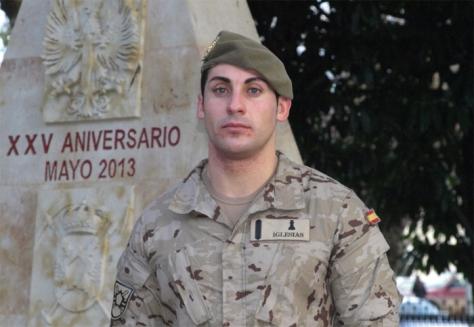 Un soldado de Salamanca se enfrenta a un presunto maltratador que iba armado con un cuchillo