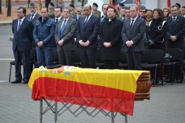 Funeral por el soldado Abel García