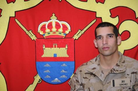 El soldado Sánchez Darias (Foto:BRILCAN)