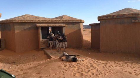 Los ejercicios han servido para mejorar el adiestramiento de una sección del Ejército Mauritano