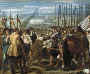 DIEGO VELÁZQUEZ La rendición de Breda