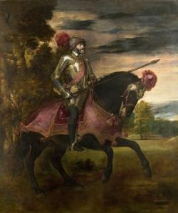 TIZIANO VECELLIO Carlos V en la batalla de Mühlberg