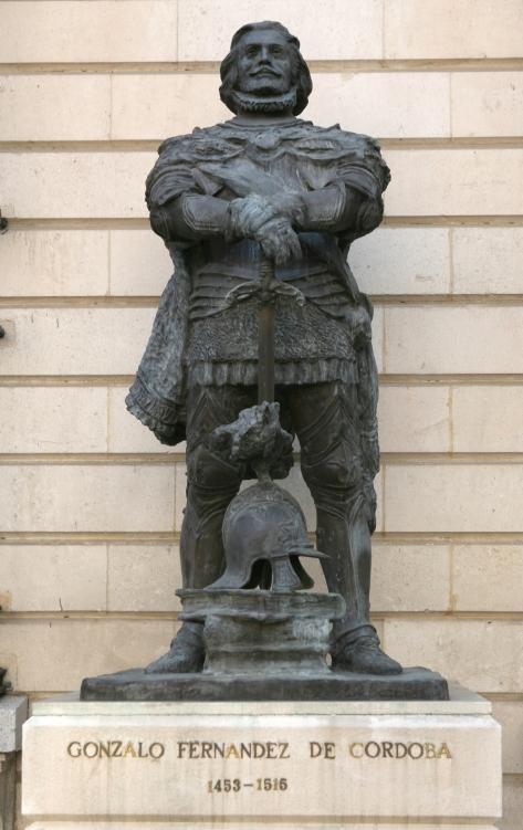 Estatua en Cuartel General del Ejército (Madrid)