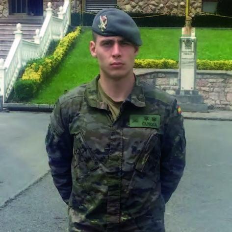 """El teniente Marcos está destinado en el Regimiento """"Príncipe"""" 3"""