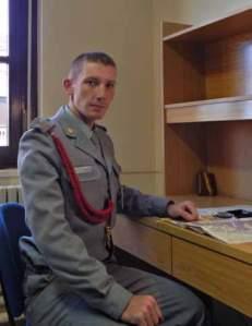 Caballero cadete Santiago Cubas 'Rastreador del subsuelo'