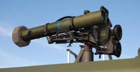 El sistema Spike, montado sobre uno de los VAMTAC