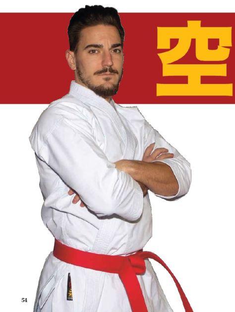 Damián Quintero, karateca