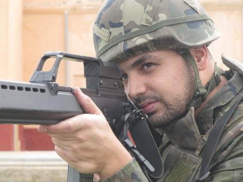 caballero legionario Jose Luis Aranzana Mohamed