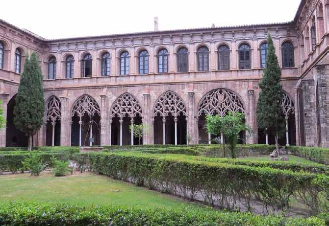 Claustro Mayor o claustro Gótico