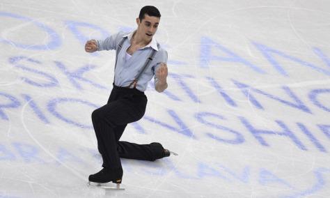 Campeón mundial de patinaje artístico