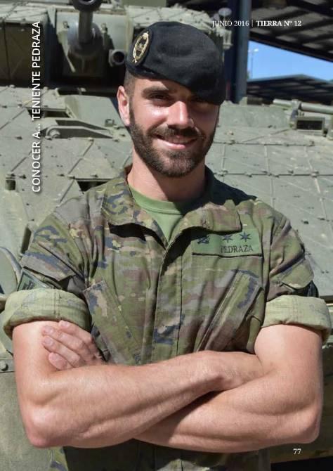 """El teniente Pedraza destinado en el Regimiento """"La Reina"""" nº2"""