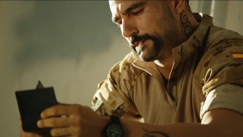 El actor encarnó al teniente Martín en la primera temporada de Los Nuestros