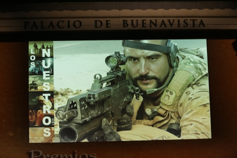 Antonio Velázquez en el papel del teniente Martín