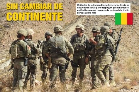 Noveno contingente para la misión de entrenamiento de la Unión Europea en Mali (EUTM-Mali)