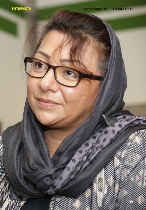 Entrevista a Azita Rafaat: 'Las mujeres afganas nacen y mueren en silencio'