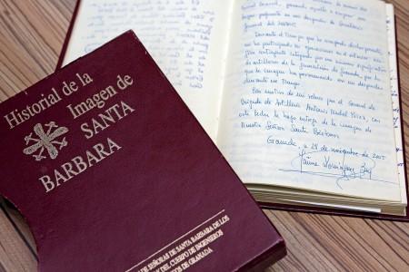 Historial de la imagen de Santa Bárbara
