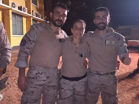 Los tres hermanos de misión en Mali