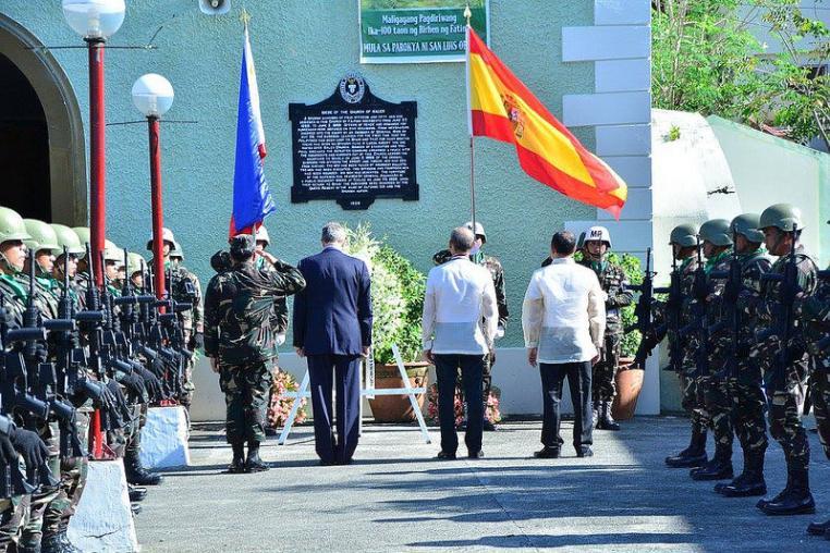 Homenaje a los 'Últimos de Filipinas'