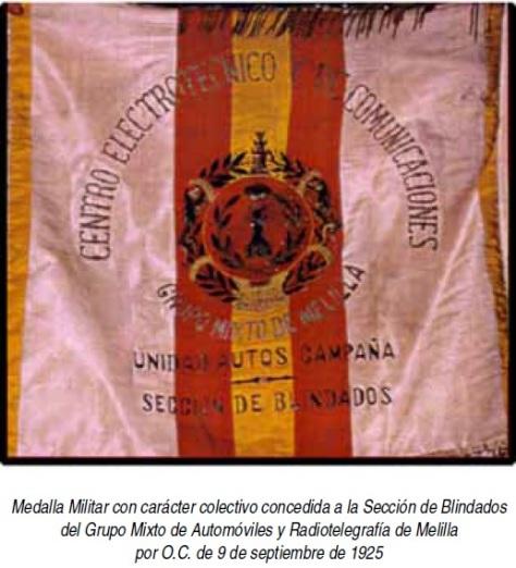RT 22 Bandera Grupo Mixto de Melilla 1